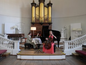 Concert photo with organ