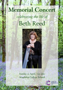 Beth Reed cover page for programme notes